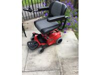 Go go pride mobility power chair 2 months old