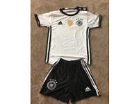 Brand New never worn :Germany football kit size 128