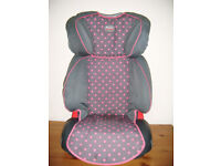 Car Seat Booster Seat age 4 - 12yr