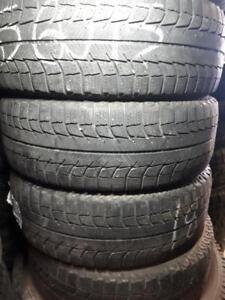 185/60/15 Four winter Michelin tires