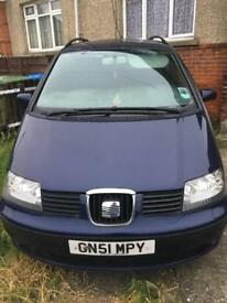 Seat alhambra 7 seater family car