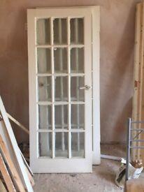Wooden door in excellent condition