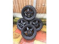 Citroen Peugeot Saxo 106 alloy wheels x4 14 inch £50