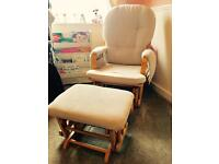 Unisex baby maternity nursing rocking chair great condition