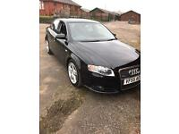 AUDI A4 2.0 TDI S LINE 2006 BLACK. 12 MONTHS MOT, TAXED. 160000 PAS, ABS, RCL, TC, CLIMATE HEATING,