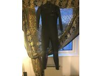 Ladies wetsuit. C-Skins 4/3. UK size 8. Chest zip.