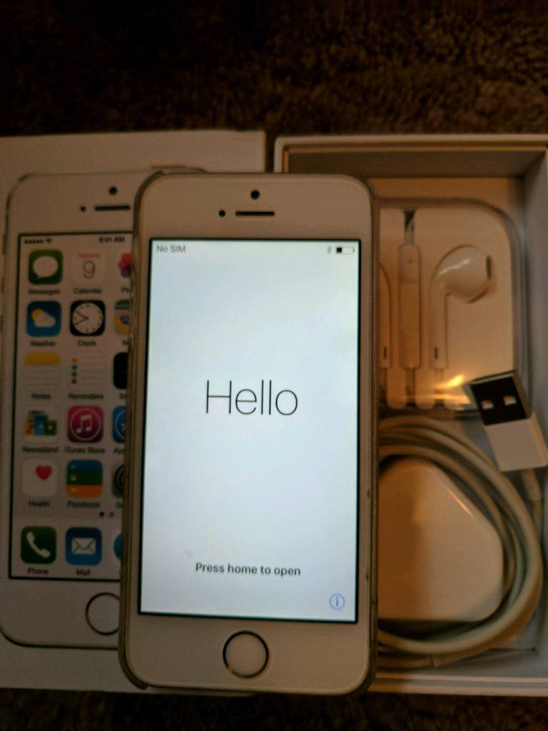 iPhone 5s 16gb Space Greyin Burton on Trent, StaffordshireGumtree - iPhone 5s 16gb Space Grey on EE. Excellent condition. Comes complete with box and accessories