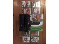 X box 360 slim for sale in fantastic condition with x2 official controllers and games.
