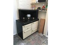 Belling electric range cooker with hood 110cm