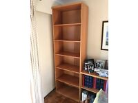 Book cases in various sizes