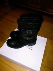 Black Biker Boots (Head Over Heels by Dune)