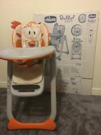 Chicco polly 2 highchair