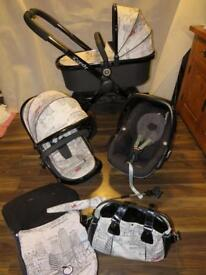 iCandy Peach Limited Edition London Huge Travel System