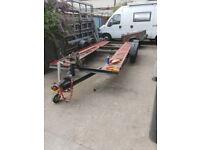 custom made car trailer heavy duty