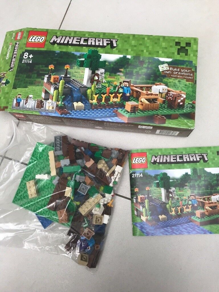 Lego Minecraft Set In Original Box With Instructions In Fulham