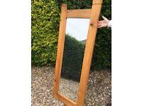 Tall pine mirror