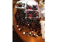 Huge selection of nail polishes, OPI, China Glaze, Bff, Sinful, incl top coats, gloss, matte