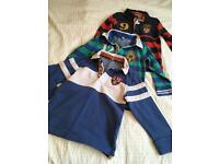 Child's long-sleeved rugby shirts (M&S), 2-3yrs