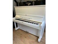 Yamaha U3 || white | **Belfast Pianos *** | Free Delivery || Dunmurry