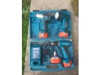 Battery combo set