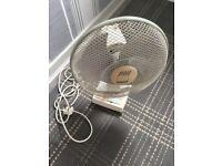 Fan with 3 settings