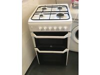 Indesit gas cook cooker fully working