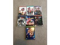 Big Bang Theory seasons 1-7