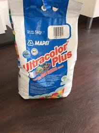 Pale grey grout - unopened