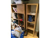 Ikea storage shelving units