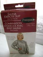Sauna Exercise Suit - NEW (never used – in sealed plastic bag)