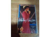 Whitney Houston in Concert.