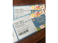 RiZE Festival tickets with 2 day camping