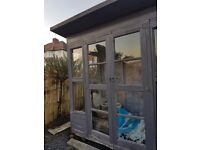 Free small summer house. Buyer dismantles and takes away.