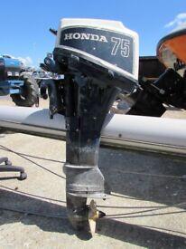 honda 7.5 four stroke outboard no tiller, carb needs sorting