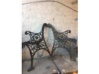 joblot cast iron garden furniture benches chairs etc 28 pieces £200