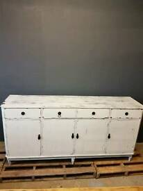 Shabby chic vintage sideboard