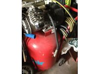 Large electric air compressor