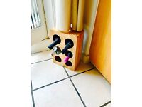 John Lewis 6 Bottle Wine Rack