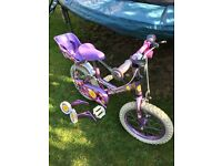 Halfords 'Sweetpea' child's bike suitable ages 2-5 years