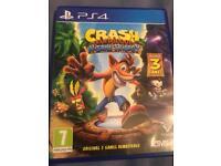 Crash bandicoot Ps4 £15