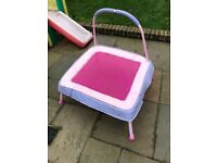 Junior trampoline - pink