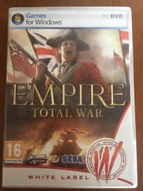 Empire Total War PC game