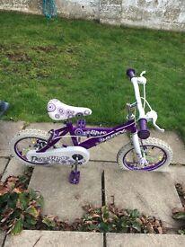 """Girls 12"""" huffy bike"""