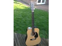 Fender Squier SA105 acoustic guitar
