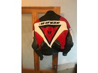 Motorbike jacket Dainese size 48 small