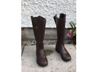 Sherwood Forest brown Leather boots