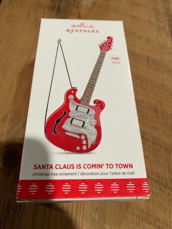 Hallmark Keepsake Ornament Santa Claus is Comin