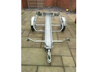 Motorbike trailer for sale, perfect for holidays or track days, Excellent condition like new.