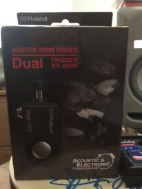 for sale acoustic drum trigger from Roland RT-30HR
