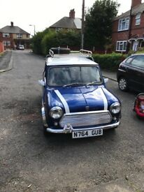 Rover mini sprite 1275cc 21k